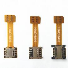 10 X гибридный двойной две sim-карты Micro SD адаптер для Android Extender 2 Nano Micro SIM адаптер для Xiaomi Redmi Note 3 4 3s Pro Kinganda 32799552204