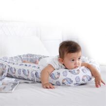 85*50 см портативное детское гнездо кровать скандинавский хлопок Колыбель единорог Печать детская кроватка бампер складной спальное место для новорожденных путешествия кровать koshine 32952843894