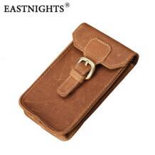 Eastnights Crazy Horse кожа талии пакет мужской натуральная кожа из воловьей кожи ручной работы Повседневная сумка для мобильного телефона tw1615 No name 1944166051