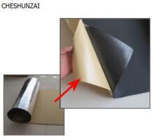 1 м * 1 м * 0.5 см автомобиль звукоизоляция материал алюминиевой фольги звукоизоляция хлопок теплоизоляция хлопок звукопоглощающие No name 32290354900