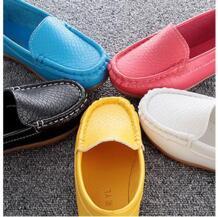 Искусственная кожа обувь для детей мальчиков черные Лоферы Новинка весны 2016 Кожа Школьные кроссовки дети 21-38 подросток ребенок свадебные туфли No name 32588464712