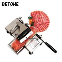 BETOHE нержавеющая сталь ручная ломтерезка для замороженного мяса, ручка для резки мяса, овощерезка, баранины рулонная машина No name 32903114697