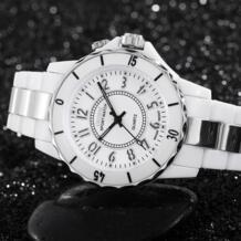 Известный бренд Ohsen Кварцевые женские наручные часы водонепроницаемые погружение моды светодиодный Белый Элитная одежда часы подарки Relojes Mujer No name 629154444