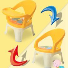 Дети обеденный стул с Съемная пластина детские обеденный стол, чтобы поесть детей Кормление стул может вызвать мягкие Пластик свет табурет No name 32826863678