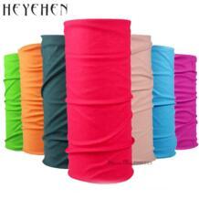 Мода 2017 г. одноцветное бандана многофункциональный Magic Bicyle повязка шарф мягкая маска трубчатая унисекс шарфы HY33 HEYEHEN 32812460316