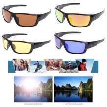 Солнцезащитные очки для мужчин, поляризационные спортивные очки для рыбалки, солнцезащитные очки для рыбалки, для велоспорта, поляризованные уличные спортивные очки, UV400 для мужчин OOTDTY 32945625154