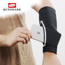 спортивный карман грелка руки наручный чехол для телефона сумка для пешего туризма рыбалки бега велоспорта телефона наручная сумка рукав для телефона QUESHARK 32913732981