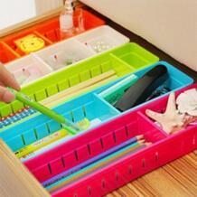 Пластиковый Органайзер коробка для хранения галстук бюстгальтер носки ящик для косметики контейнерный делитель коробки для хранения бытовой контейнер Органайзеры HOUSEEN 32866268276