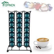 стойка для кофейных капсул капсулы дозирующая стойка башня подходит для 40 сетки капсула Nespresso подставка для чашек держатель-in Кофейные наборы from Дом и животные on Aliexpress.com | Alibaba Group TOPINCN 32975795889