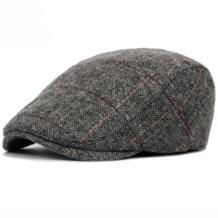 HT1329, осенне зимняя мужская шапка, береты, британский западный стиль, шерстяная усовершенствованная плоская кепка плюща, Классическая винтажная полосатая шапка берет, 2019-in Мужские береты from Аксессуары для одежды on AliExpress Aerlxemrbrae 32832843004