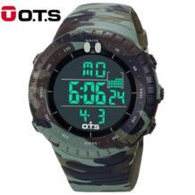 OTS новые военные спортивные часы мужские уличные модные армейские многоцелевые 50 м водостойкие мужские наручные часы для мужчин Relogio Masculino O.T.S 32630914001