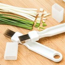 Лук нож для овощерезки multi chopper острый скальльон кухня ножи Shred Инструменты ломтик столовые приборы No name 32720711921