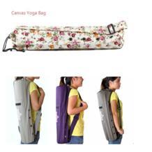 68*15 см холст практические Yoga bag Пилатес Йога коврик для женщин случае ремень для переноски шнурок Сумка Спортивная упражнения тренажерный зал Фитнес рюкзак No name 32818395304