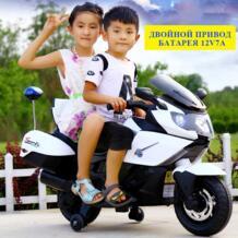 2019 новый детский двухприводный Электрический мотоцикл трехколесный большой игрушечный автомобиль может сидеть на ребенка Аккумулятор для мотоцикла пакет детский подарок jinbao 32860537268