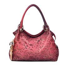 Дизайнерские Сумки женские из искусственной кожи выдалбливают сумки Цвет Градиент кисточка сумка женская портативный сумка No name 1585017005