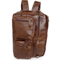 Nesitu Винтаж Пояса из натуральной кожи рюкзак Для мужчин Дорожная сумка портфель 14 ''ноутбук рюкзак # m7061 No name 1818044127
