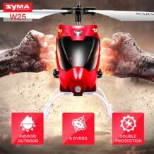W25 Небьющийся Игрушечная машина для детей Дистанционное Управление вертолет с мигающий светодиодный прожектор оригинал Syma 32743763853