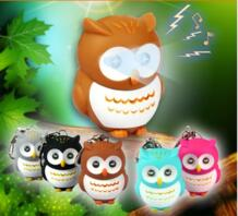 LED Брелки Совы брелок Звук/голос светящиеся кулон keychais творческие подарки детская игрушка подарок для любителей bluessence 32335562757