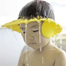 Безопасный шампунь для купания ванна защищать мягкая шапка шляпа для мытья волос Щит Bebes детей Купание Душ Cap Hat дети No name 32889057523