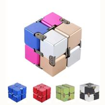 Магический Бесконечность Cubeb из алюминиевого сплава креативные игрушки-антистресс вращающийся Спиннер декомпрессионные кубики для снятия стресса Haifeng 32857016142