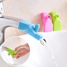 Пищевой силиконовый шланг кухонный домашний водопроводный кран расширитель для детской ванной комнаты No name 32916102389