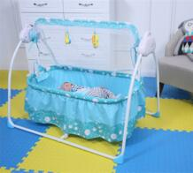 Мода Электрический детская кроватка детская Колыбели с москитной Сетки для автомобиля многофункциональный музыка ребенок Колыбели кровать No name 32853197510