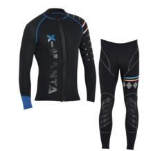Мужские гидрокостюмы для дайвинга и плавания, 3 мм, куртки и штаны, длинный рукав, костюм для дайвинга, сёрфинга, Сноркелинга, гидрокостюмы, бесплатная доставка Гидрокостюм    - AliExpress DIVE&SAIL 4000068312078