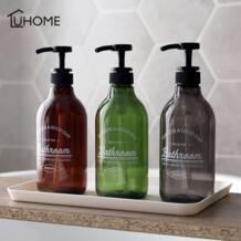 Диспенсер для мыла 300/500/600 мл, косметические бутылки для ванной комнаты, дезинфицирующий шампунь для мытья тела, бутылка для лосьона для путешествий на открытом воздухе|Переносные дозаторы мыла| | АлиЭкспресс YIBO 33008205536