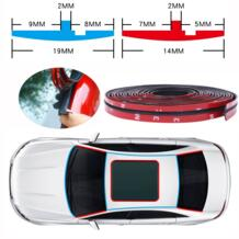 14 мм/19 мм автомобильные уплотнительные полосы t типа Авто протектор уплотнения наклейки край окна передний задний лобовое стекло крыши EPDM резиновые уплотнительные полоски-in Хлопковая звуко- и теплоизоляция from Автомобили и мотоциклы on AliExpre QCBXYYXH 4000165414230