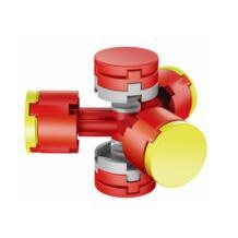 DIY Непоседа творческого потенциала Конструкторы палец руки Spinner Ранние развивающие игрушки discountHEH 32838471755