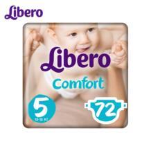 Подгузники Libero Comfort Size 5 (10-16кг), 72 шт. No name 32911706442