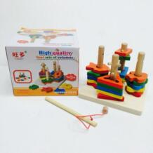 Детские развивающие игрушки деревянные игрушки подарки для девочек и мальчиков обучения Бесплатная доставка из России No name 32948899100
