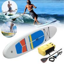 Она 330*81*10 см встать Киль доски для Серфинга Надувные Совета SUP комплект W ave Rider + насос Надувные весло для серфинга лодка SGODDE 32857585926