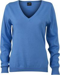 02.0658 James & Nicholson | JN 658 ženski v-izrez pulover