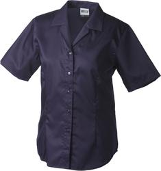 02.0609 James & Nicholson | JN 609 Twill poslovna bluza s kratkimi rokavi