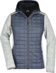 02.0771 James & Nicholson   JN 771 ženska hibridna pletena jakna