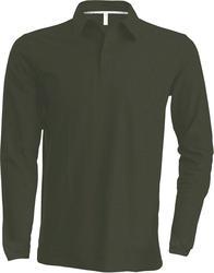 20.K243 Kariban | K243 moška piqué polo majica z dolgimi rokavi