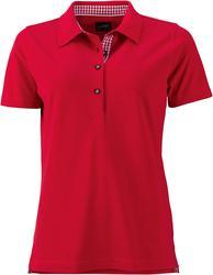 02.0715 James & Nicholson | JN 715 Ženska klasična Piqué Polo majica