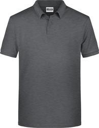 02.8010 James & Nicholson | JN 8010 moška pique polo majica iz organskega bombaža