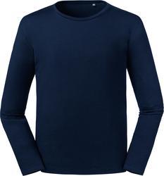 10.100M Russell | 100M moška organska majica z dolgimi rokavi