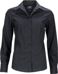 02.0641 James & Nicholson | JN 641 Ženska Poslovna popline bluza dolg rokav