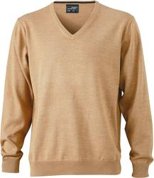 02.0659 James & Nicholson   JN 659 moški v-izrez pulover