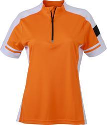 02.0451 James & Nicholson | JN 451 Ženska kolesarska majica z zadrgo