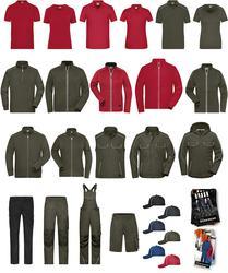 02.ZM01 James & Nicholson | Musterkollektion Workwear Sample Package Workwear