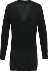 39.0698 Premier | PR698 Ženska daljša poslovna pletena jopica