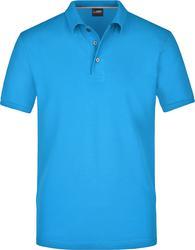 02.0708 James & Nicholson | JN 708 Moška Pima Piqué Polo majica
