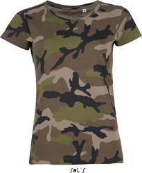 25.1187 SOL'S | Camo Women Ženska Camouflage majica