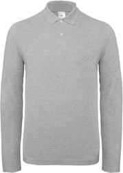 01.0I12 B&C | ID.001 LSL moška polo majica z dolgimi rokavi