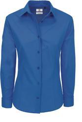 01.0P43 B&C | Heritage LSL /women Poplin bombažna bluza z dolgimi rokavi