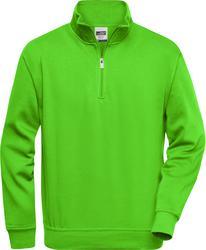 02.0831 James & Nicholson | JN 831 Workwear pulover s polovično zadrgo